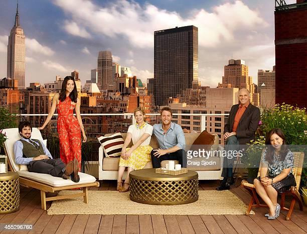 STORY Walt Disney Television via Getty Images's Manhattan Love Story stars Nicolas Wright as David Jade CattaPreta as Amy Analeigh Tipton as Dana...