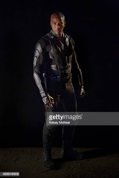 "Walt Disney Television via Getty Images's ""Marvel's Agents of S.H.I.E.L.D."" stars J. August Richards as Deathlok."