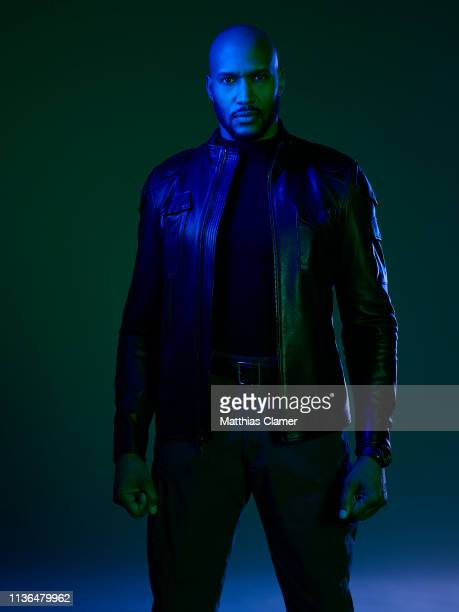 S AGENTS OF SHIELD Walt Disney Television via Getty Images's Marvel's Agents of SHIELD stars Henry Simmons as Director Alphonso Mack MacKenzie