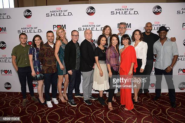 """Walt Disney Television via Getty Images's """"Marvel's Agents of S.H.I.E.L.D."""" season premiere event took place Wednesday, September 23 at Pacific..."""