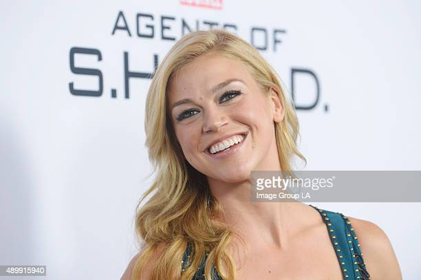S AGENTS OF SHIELD Walt Disney Television via Getty Images's Marvel's Agents of SHIELD season premiere event took place Wednesday September 23 at...