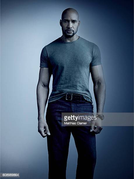 S AGENTS OF SHIELD Walt Disney Television via Getty Images's Marvel's Agents of SHIELD stars Henry Simmons as Alphonso Mack MacKenzie
