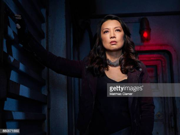 S AGENTS OF SHIELD ABCs 'Marvel's Agents of SHIELD stars MingNa Wen as Melinda May