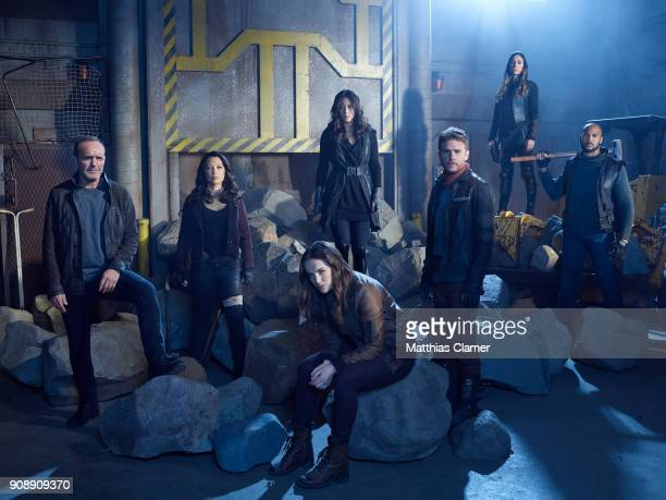 S AGENTS OF SHIELD ABCs 'Marvel's Agents of SHIELD stars Clark Gregg as Phil Coulson MingNa Wen as Melinda May Elizabeth Henstridge as Jemma Simmons...