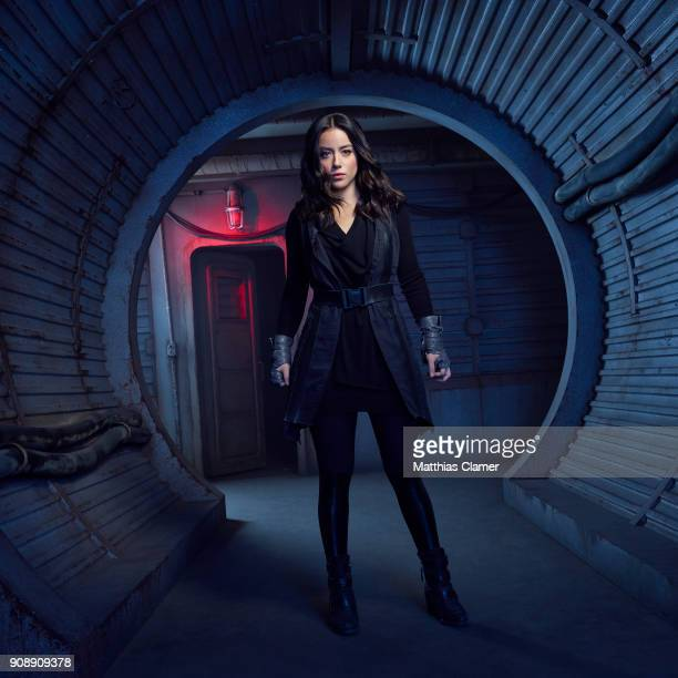 S AGENTS OF SHIELD Walt Disney Television via Getty Imagess Marvel's Agents of SHIELD stars Chloe Bennet as Daisy Johnson