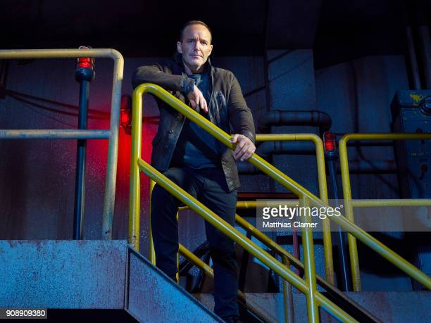 S AGENTS OF SHIELD ABCs 'Marvel's Agents of SHIELD stars Clark Gregg as Phil Coulson