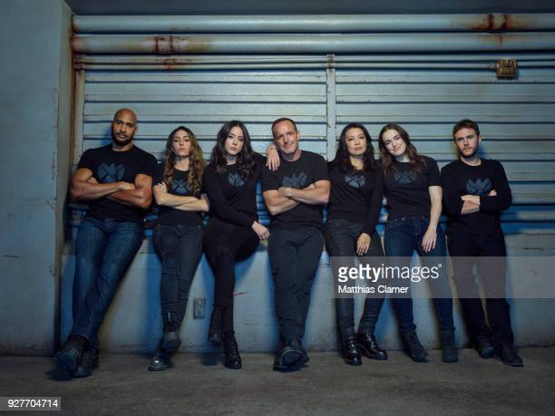 S AGENTS OF SHIELD ABCs 'Marvel's Agents of SHIELD stars Henry Simmons as Alphonso 'Mack' MacKenzie Natalia CordovaBuckley as Elena 'YoYo' Rodriguez...
