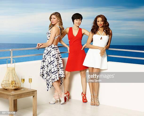 MISTRESSES Walt Disney Television via Getty Images's Mistresses stars Jes Macallan as Josslyn Carver Yunjin Kim as Karen Kim and Rochelle Aytes as...