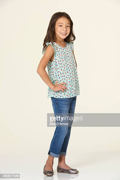 FAMILY Walt Disney Television via Getty Images's Modern Family stars Aubrey AndersonEmmons as Lily TuckerPritchett