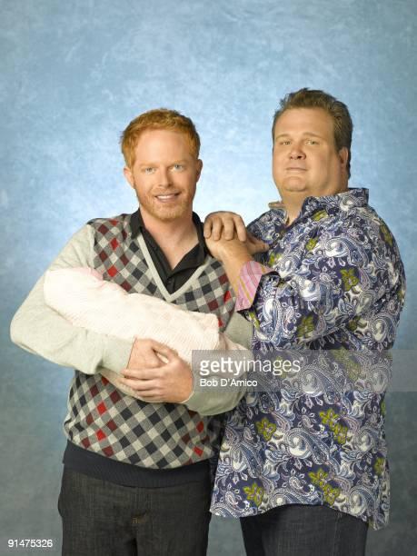 "Walt Disney Television via Getty Images's ""Modern Family"" stars Jesse Tyler Ferguson as Mitchell and Eric Stonestreet as Cameron."