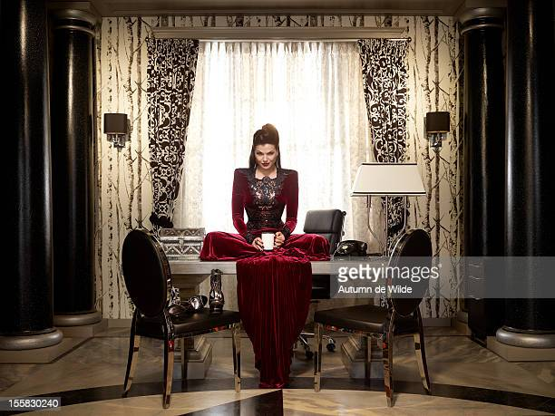 TIME Walt Disney Television via Getty Images's Once Upon a Time stars Lana Parrilla as Evil Queen/Regina