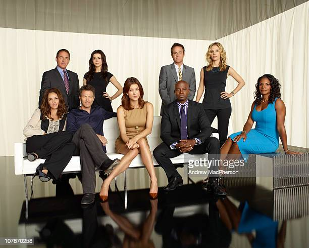 PRACTICE Walt Disney Television via Getty Images's Private Practice stars Amy Brenneman as Dr Violet Turner Brian Benben as Dr Sheldon Wallace Tim...