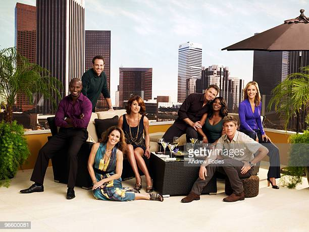 PRACTICE Walt Disney Television via Getty Images's Private Practice stars Taye Diggs as Dr Sam Bennett Paul Adelstein as Dr Cooper Freedman Amy...