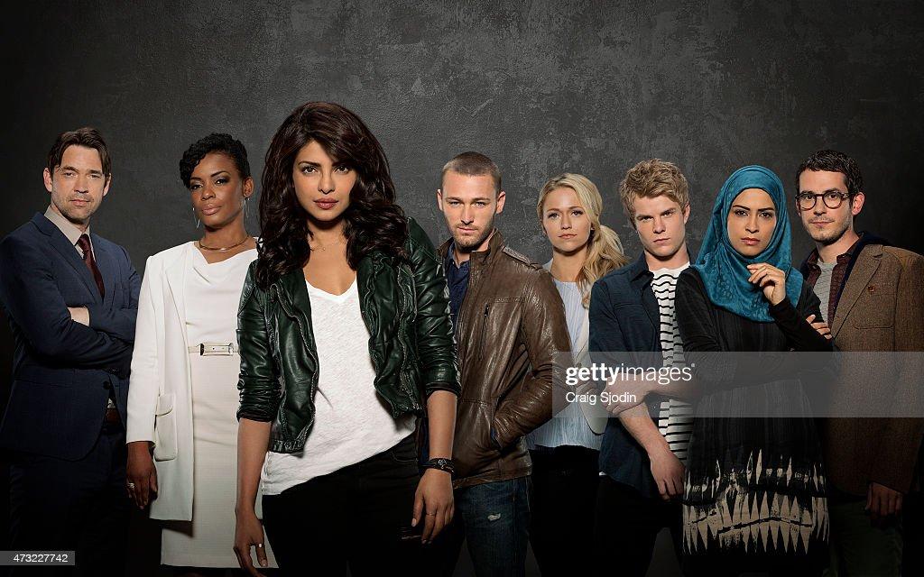 "ABC's ""Quantico"" - Season One : News Photo"