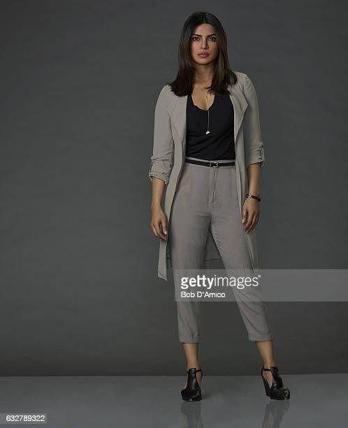QUANTICO Walt Disney Television via Getty Imagess 'Quantico' stars Priyanka Chopra as Alex Parrish