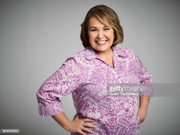 "Walt Disney Television via Getty Images's ""Roseanne"" stars Roseanne Barr as Roseanne Conner."