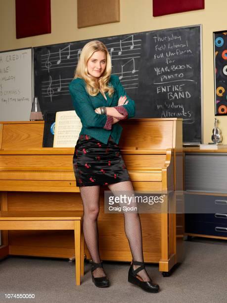 SCHOOLED Walt Disney Television via Getty Images's Schooled stars AJ Michalka as Lainey Lewis