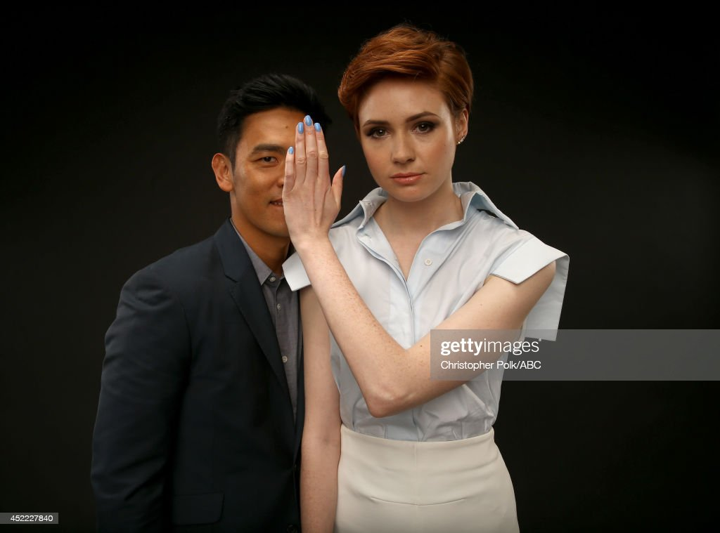 ABC's 2014 Summer TCA Tour Portraits : News Photo