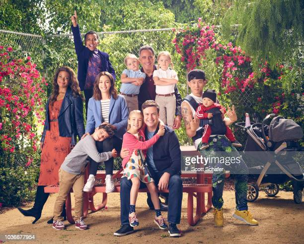 PARENTS Walt Disney Television via Getty Images's Single Parents stars Kimrie Lewis as Poppy Devin Trey Campbell as Rory Tyler Wladis as Graham...