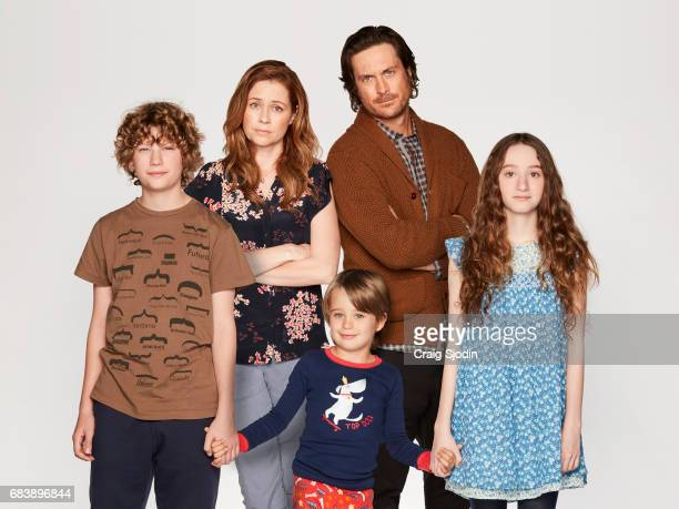 SCHOOLED ABC's 'Splitting Up Together' stars Van Crosby as Mason Jenna Fischer as Lena Sander Thomas as Milo Oliver Hudson as Martin and Olivia...