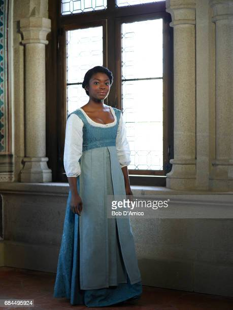 CROSSED Walt Disney Television via Getty Images's Still StarCrossed stars Ebonee Noel as Livia Capulet