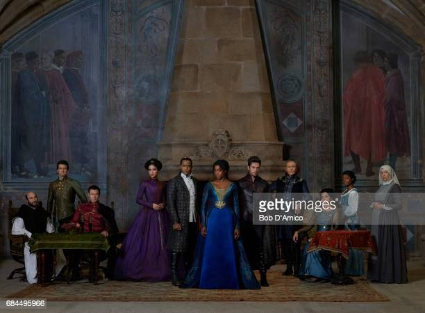 CROSSED ABC's 'Still StarCrossed' stars Dan Hildebrand as Friar Lawrence Torrance Coombs as Count Paris Grant Bowler as Lord Montague Medalion Rahini...