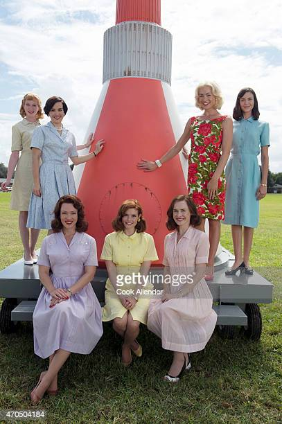 CLUB Walt Disney Television via Getty Images's The Astronaut Wives Club stars Zoe Boyle as Jo Schirra Azure Parsons as Annie Glenn Erin Cummings as...