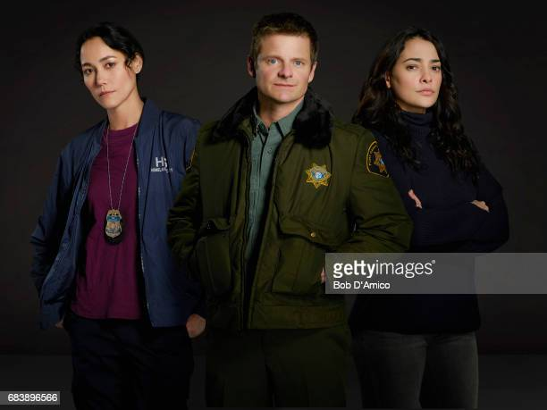 THE CROSSING ABCs 'The Crossing' stars Sandrine Holt as Emma Steve Zahn as Jude and Natalie Martinez as Reece