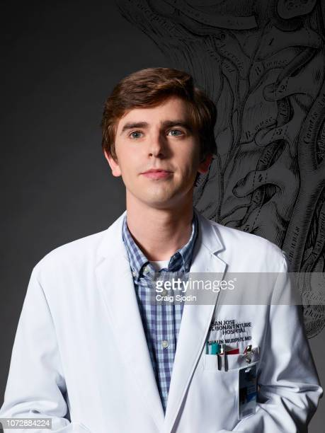 DOCTOR Walt Disney Television via Getty Images's The Good Doctor stars Freddie Highmore as Dr Shaun Murphy