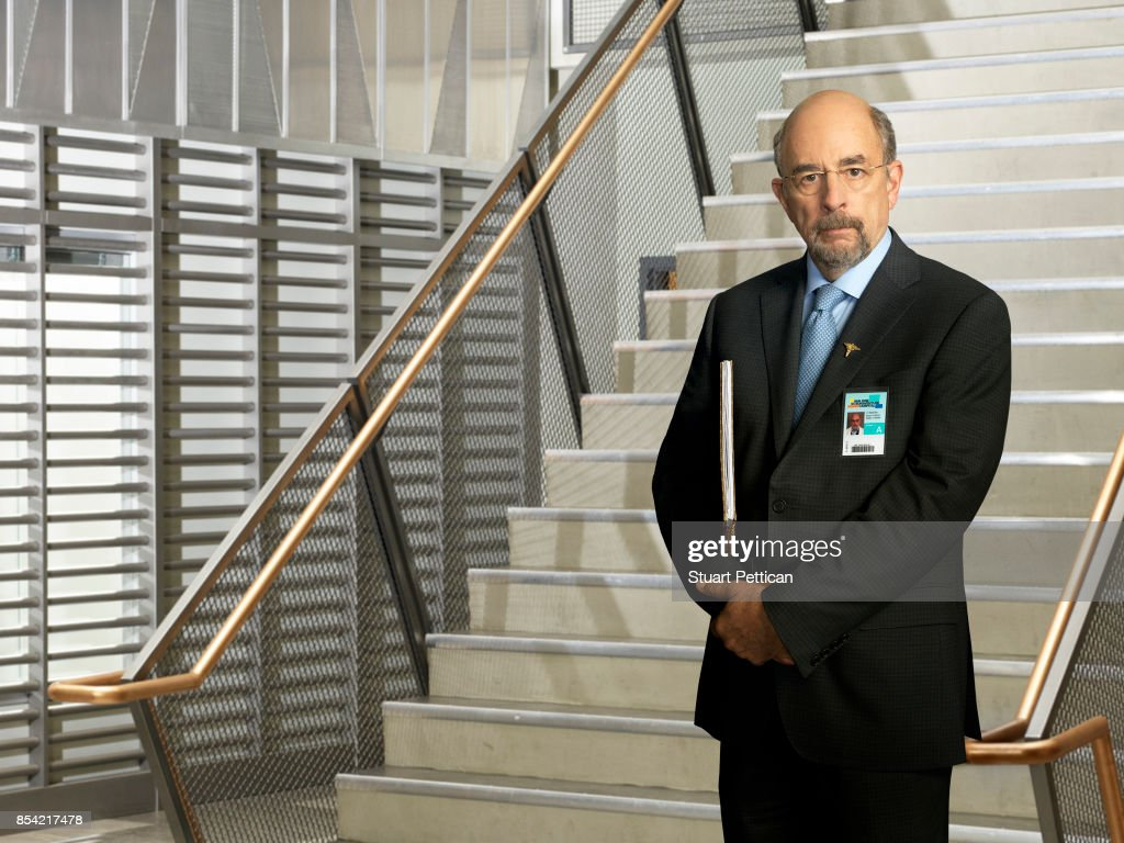 DOCTOR - ABC's 'The Good Doctor' stars Richard Schiff as Dr. Aaron Glassman.