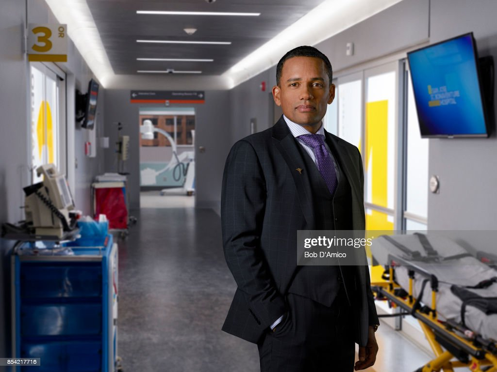 DOCTOR - ABC's 'The Good Doctor' stars Hill Harper as Dr. Marcus Andrews.
