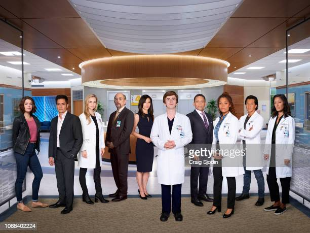 DOCTOR Walt Disney Television via Getty Images's The Good Doctor stars Paige Spara as Lea Dilallo Nicholas Gonzalez as Dr Neil Melendez Fiona...