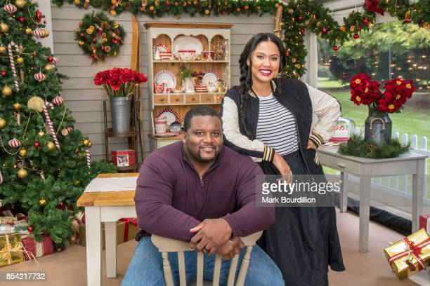 SHOW ABC's 'The Great American Baking Show' hosts Anthony Spice Adams and Ayesha Curry