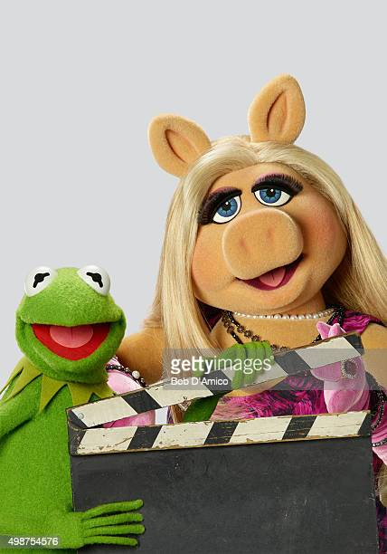 THE MUPPETS ABC's 'The Muppets' stars Kermit the Frog and Miss Piggy