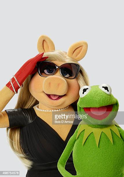 THE MUPPETS ABC's 'The Muppets' stars Miss Piggy and Kermit the Frog