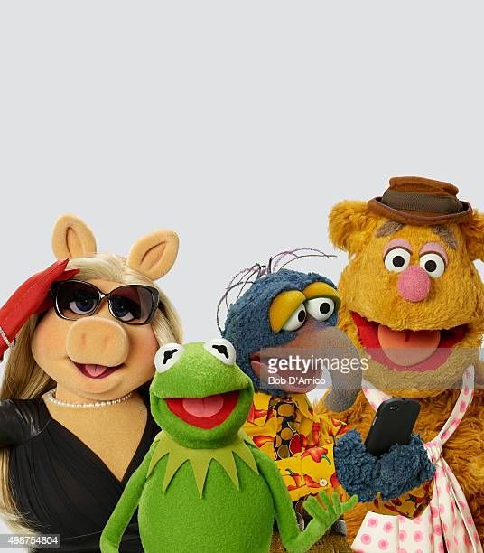 THE MUPPETS Walt Disney Television via Getty Images's The Muppets stars Miss Piggy Kermit the Frog The Great Gonzo and Fozzie Bear