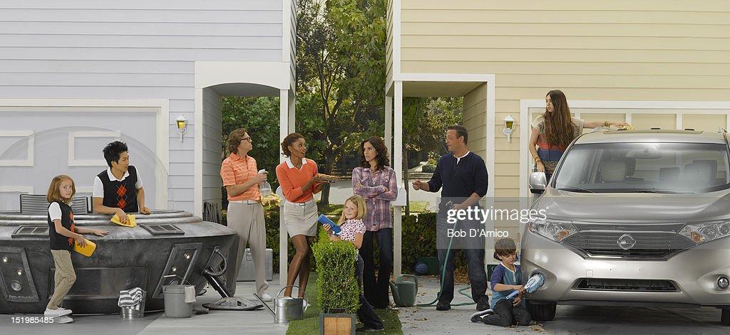 "ABC's ""The Neighbors"" - Season One : Nachrichtenfoto"
