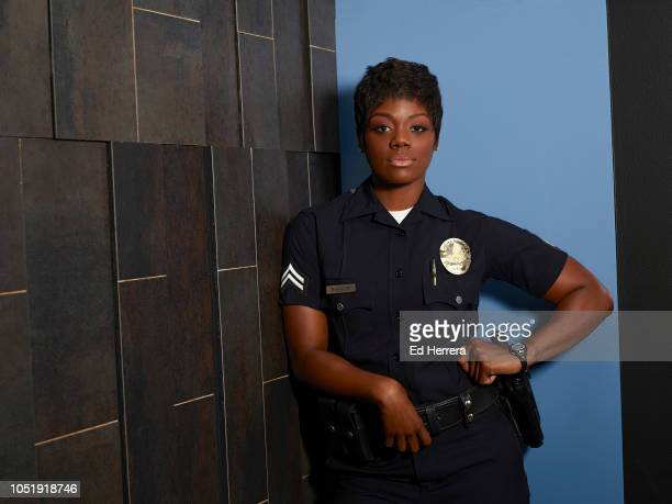 THE ROOKIE ABC's 'The Rookie' stars Afton Williamson as Talia Bishop