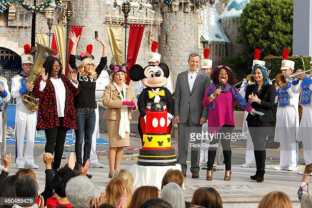 THE VIEW Walt Disney Television via Getty Imagess The View broadcasts live from the Disneyland Resort in Anaheim California NOVEMBER 1822 The week...