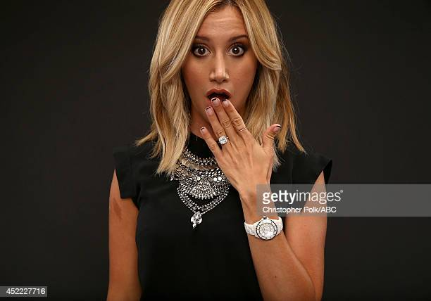 ABC's 'Young Hungry' actress Ashley Tisdale poses for a portrait during ABC's 2014 TCA summer press tour at The Beverly Hilton Hotel on July 15 2014...