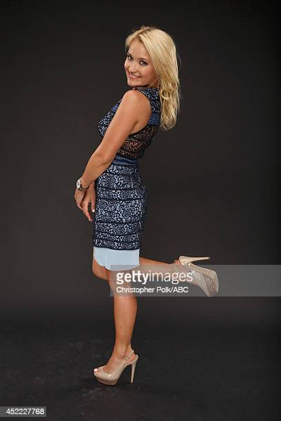 ABC's 'Young Hungry' actress Emily Osment poses for a portrait during ABC's 2014 TCA summer press tour at The Beverly Hilton Hotel on July 15 2014 in...