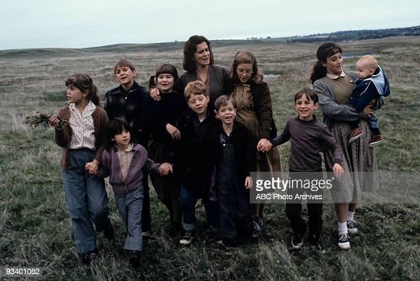 Walt Disney Television via Getty ImagesTV MOVIE Who Will Love My Children 1983 Tracy Gold Soleil Moon Frye Patrick Brennan Rachel Jacobs Bumper...