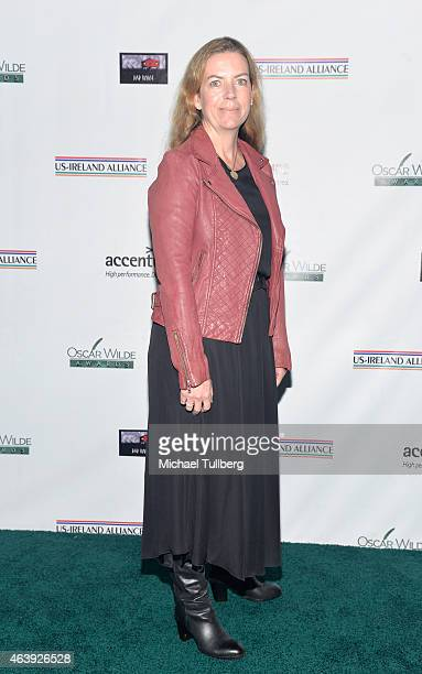 Walt Disney VicePresident Una Fox attends The USIreland Alliance PreAcademy Awards Honors Event at Bad Robot on February 19 2015 in Santa Monica...
