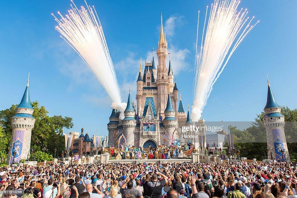 Walt Disney World Resort Celebrates 45th Anniversary to Colorful Fanfare : News Photo
