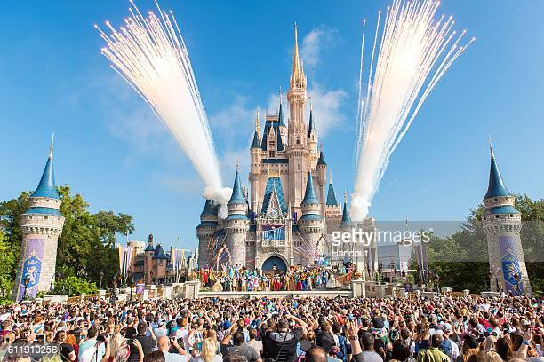 Walt Disney World Resort marked its 45th anniversary on October 1 2016 in Lake Buena Vista Florida