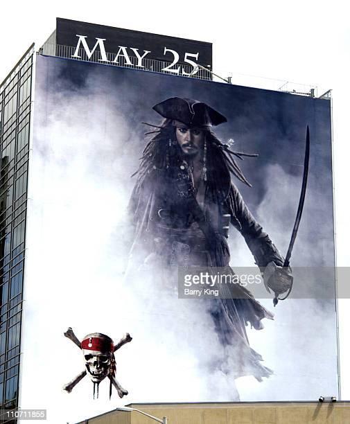 "Walt Disney's ""Pirates of the Caribbean: At World's End"" billboard on Sunset Strip"