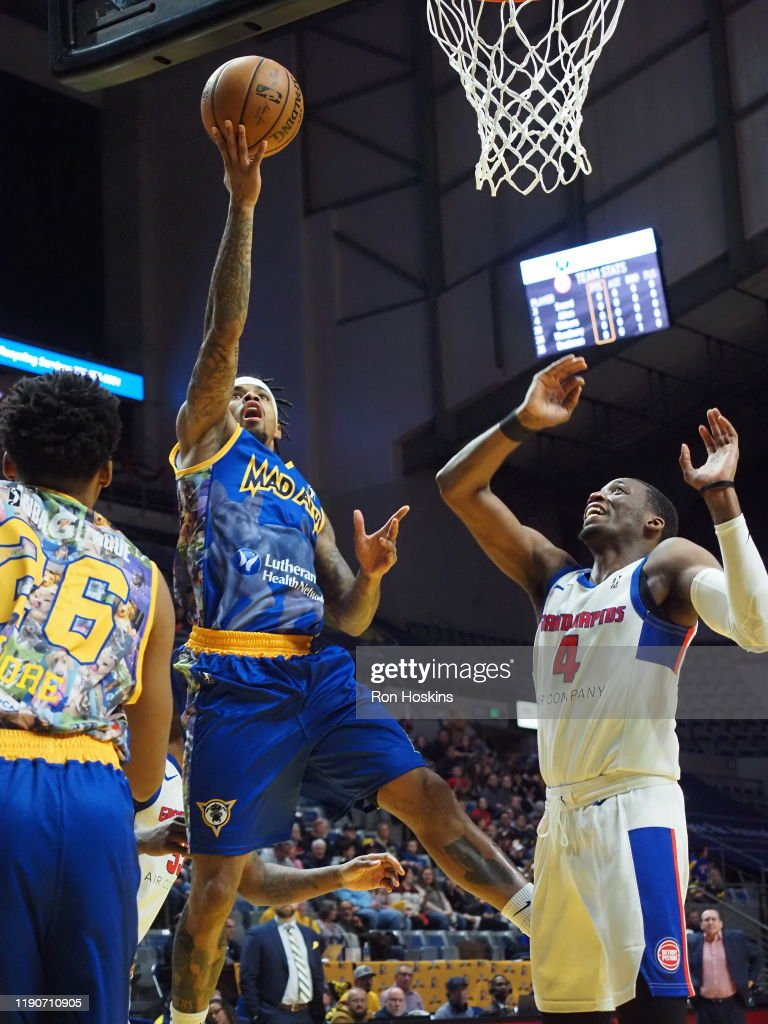 Grand Rapids Drive v Fort Wayne Mad Ants : News Photo