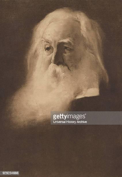 Walt Whitman American Poet Portrait 1890's
