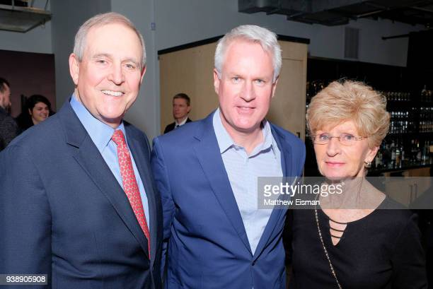 Walter Anderson Photographer John Moore and Jane Moore attend the John Moore Undocumented Book Launch at Neuehouse on March 27 2018 in New York City
