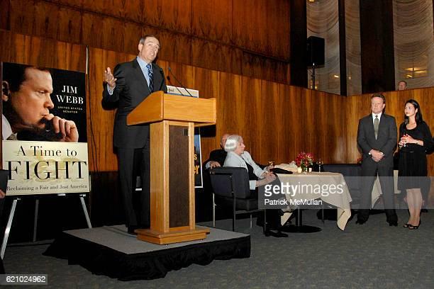 Walter Anderson Senator Jim Webb and Hong Le Webb attend PARADE Magazine and THE DOUBLEDAY BROADWAY Publishing Celebrate SENATOR JIM WEBB's New...